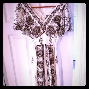 Rabbit Designs Back-tie Flare Dress Sz 6